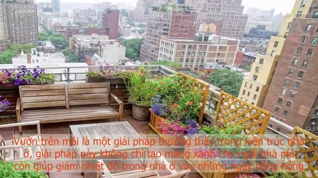 12 ý tưởng nổi bật giúp thiết kế sân vườn trên mái nhà vừa đẹp, đơn giản, tiết kiệm - CLV