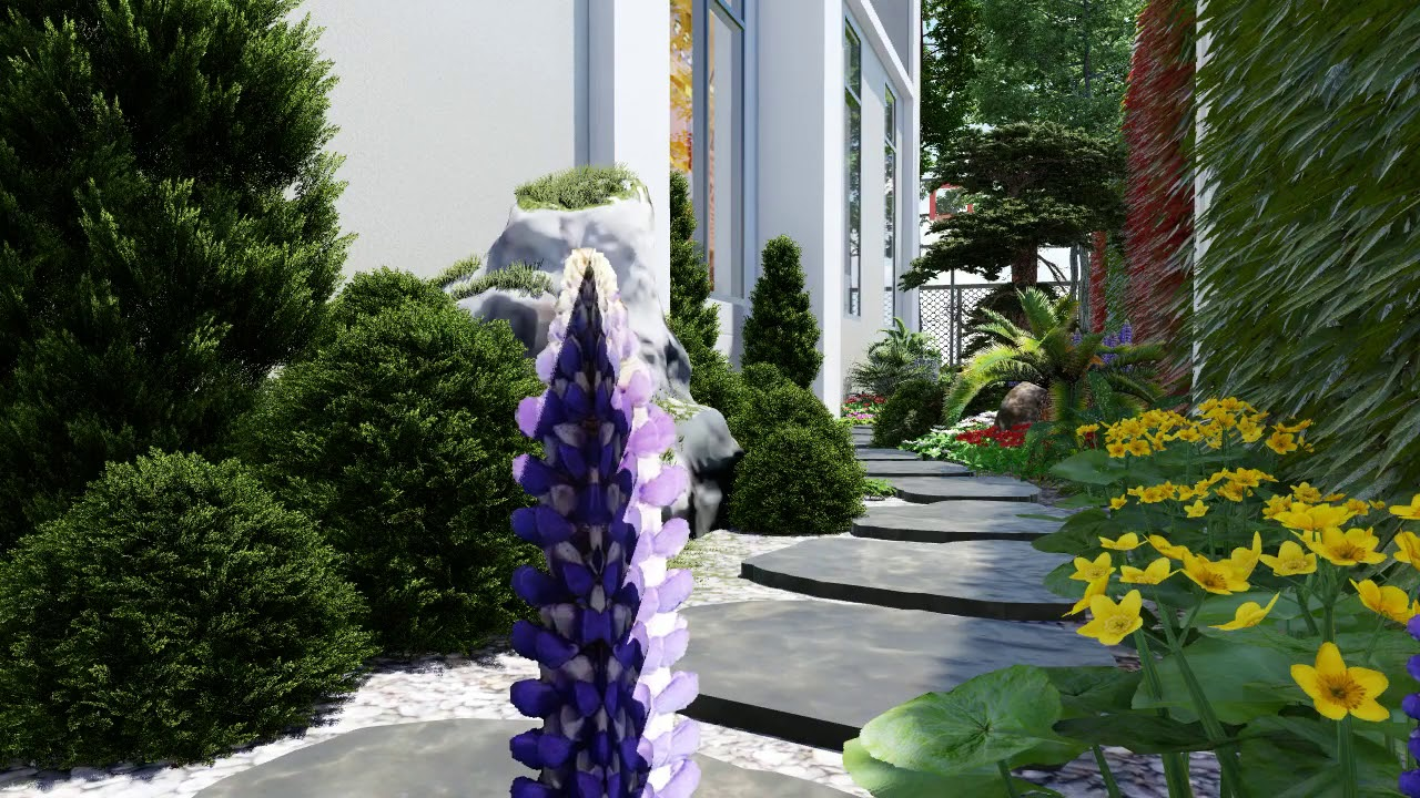 Tiểu cảnh sân vườn