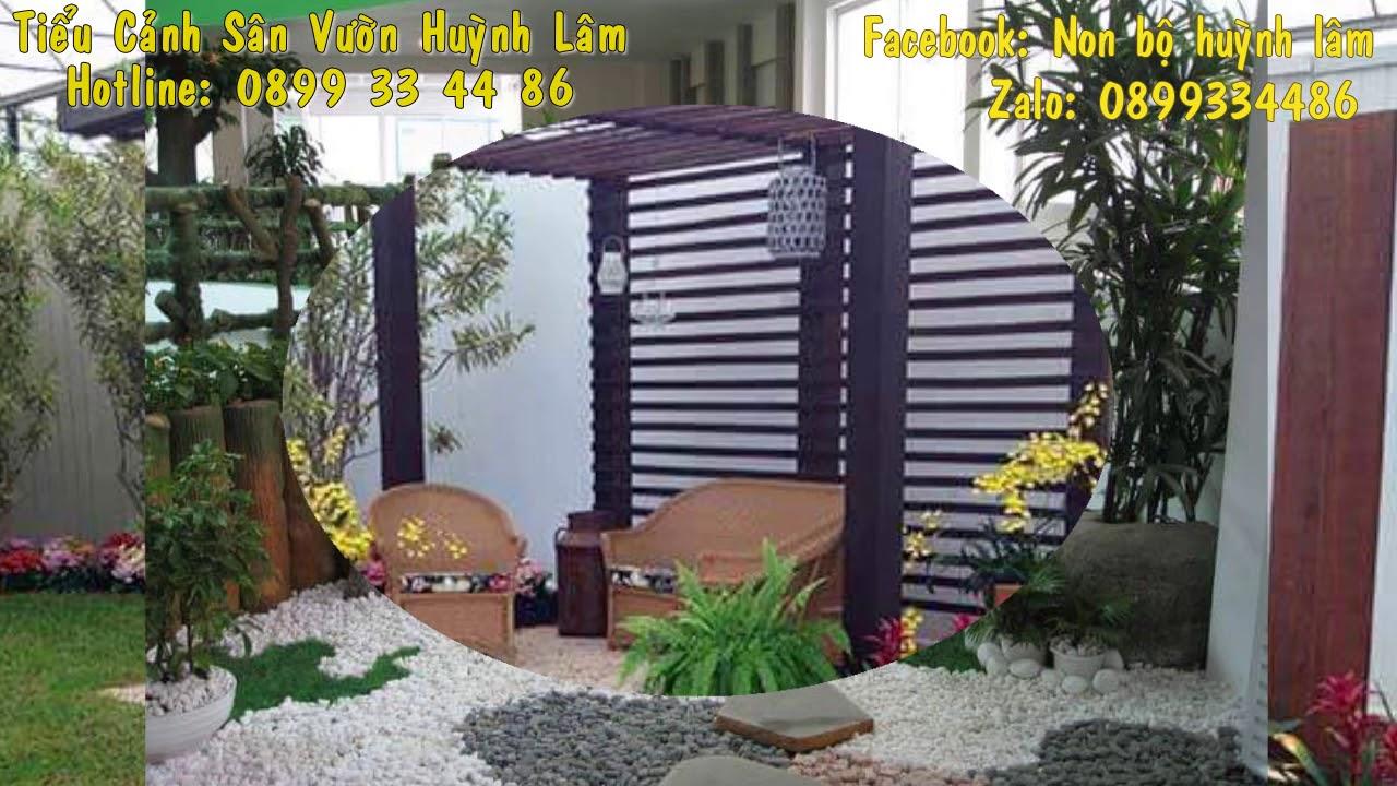 Tiểu Cảnh Sân Vườn Huỳnh Lâm - hotline: 0899 33 44 86