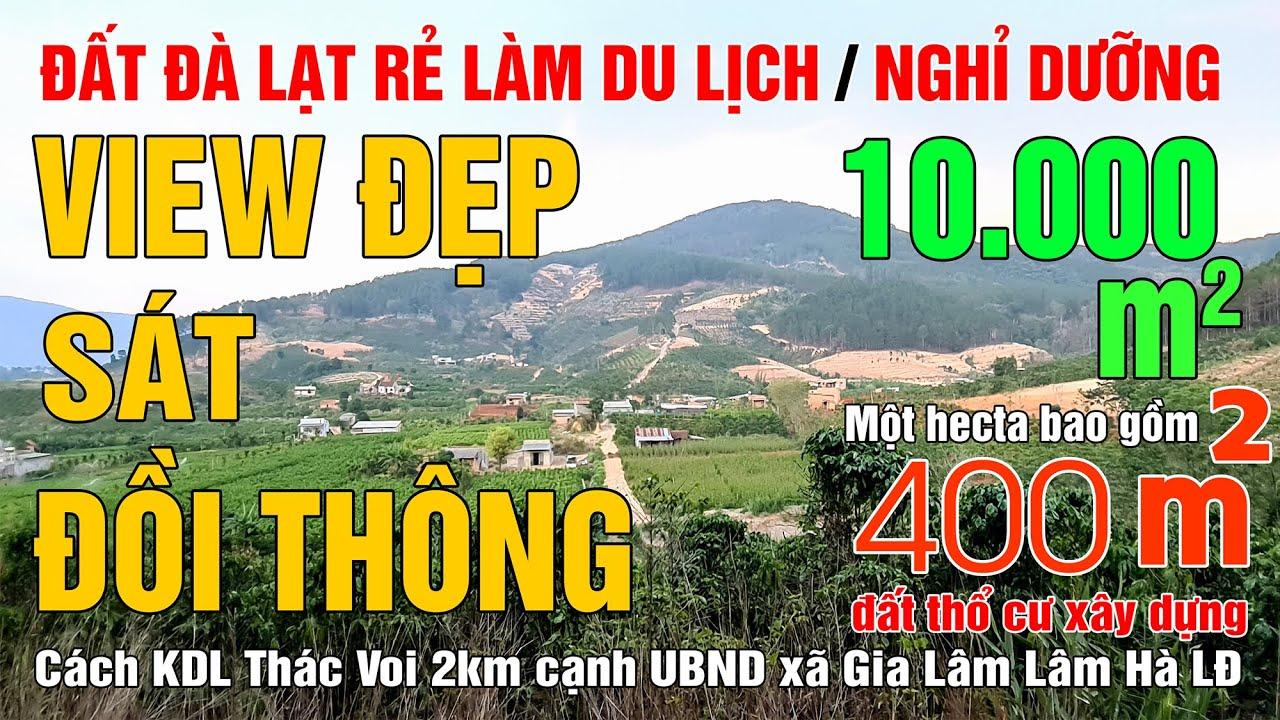 Bán đất nghỉ dưỡng sát UBND Gia Lâm Lâm Hà Lâm Đồng nay thuộc Đà Lạt thích hợp làm du lịch tuyệt đẹp