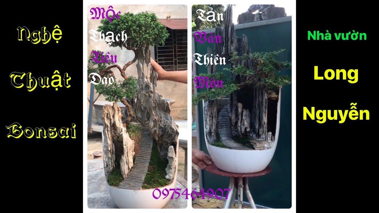 Báo giá 03 tiểu cảnh bonsai mini   SON 83