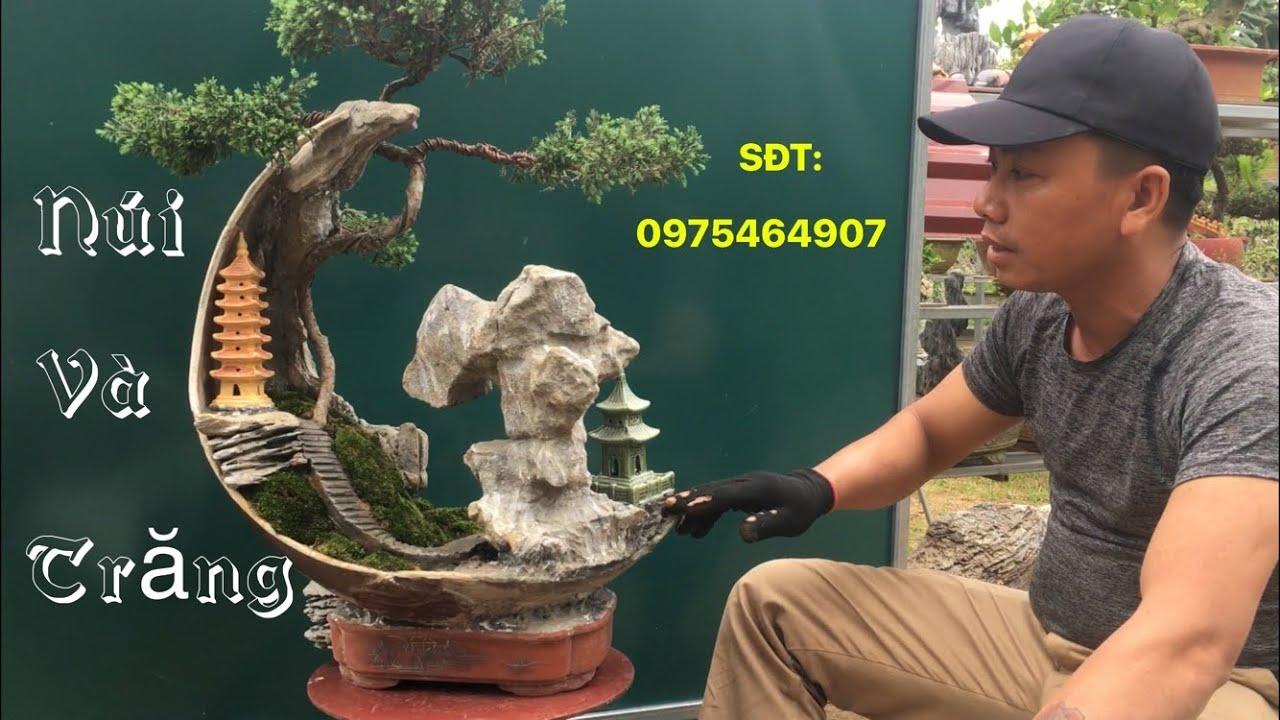 Báo giá tiểu cảnh bonsai mini tuyệt đẹp   SON 83