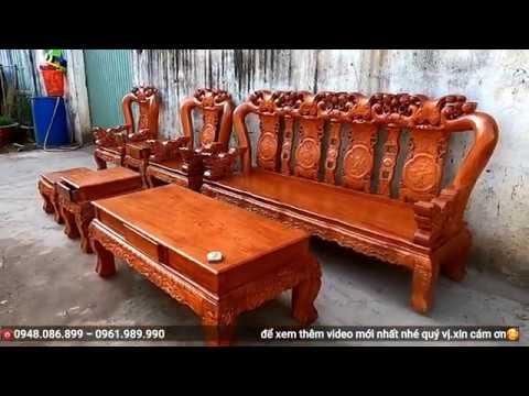 Bộ 7 món Minh Quốc Đào cột 12 gỗ Hương Đá _ Cực VIP