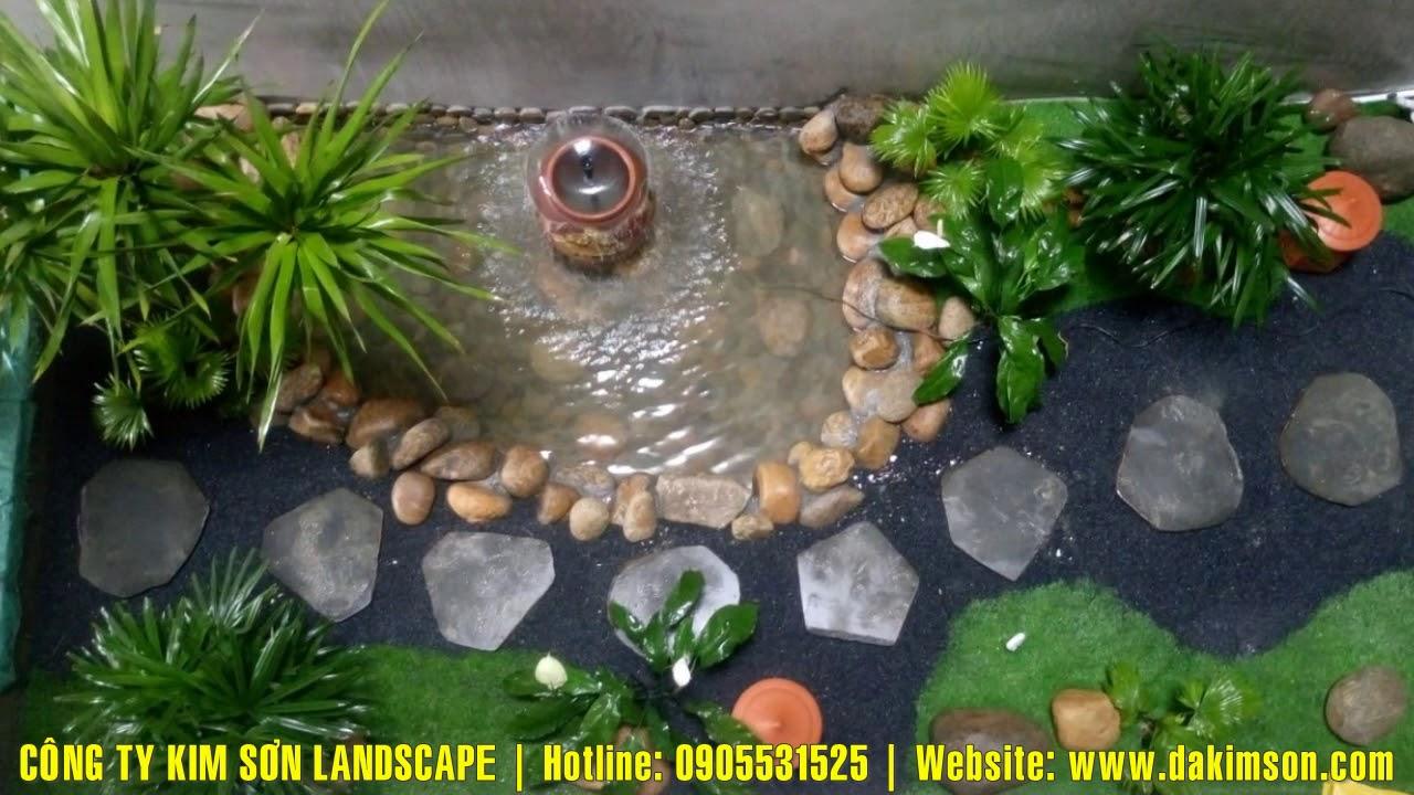 CÔNG TY KIM SƠN LANDSCAPE 0905531525 thiết kế thi công hồ cá Koi sân vườn tiểu cảnh hòn non bộ