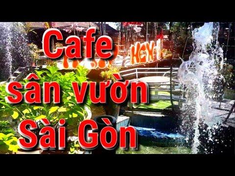 ?Cà phê sân vườn đẹp?Cafe Sài Gòn City Light Coffee Bình Mỹ Củ Chi Hồ Chí Minh?Cafe bọt biển vlog
