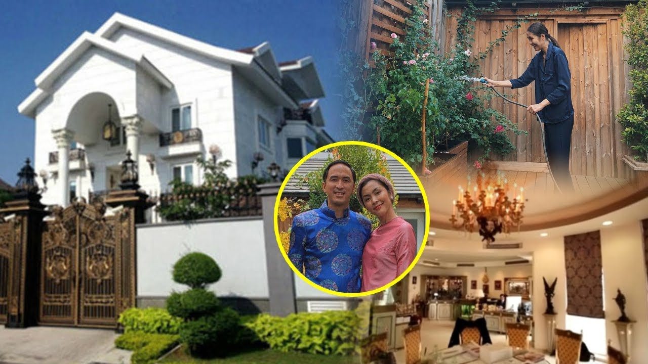 CẬN CẢNH nội thất bên trong BIỆT THỰ sân vườn TRIỆU USD của vợ chồng Tăng Thanh Hà!