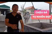 Chậu cây cảnh Tứ Linh ĐỘC NHẤT được làm từ đá tự nhiên PHẦN 3 (stone carving village vietnam)