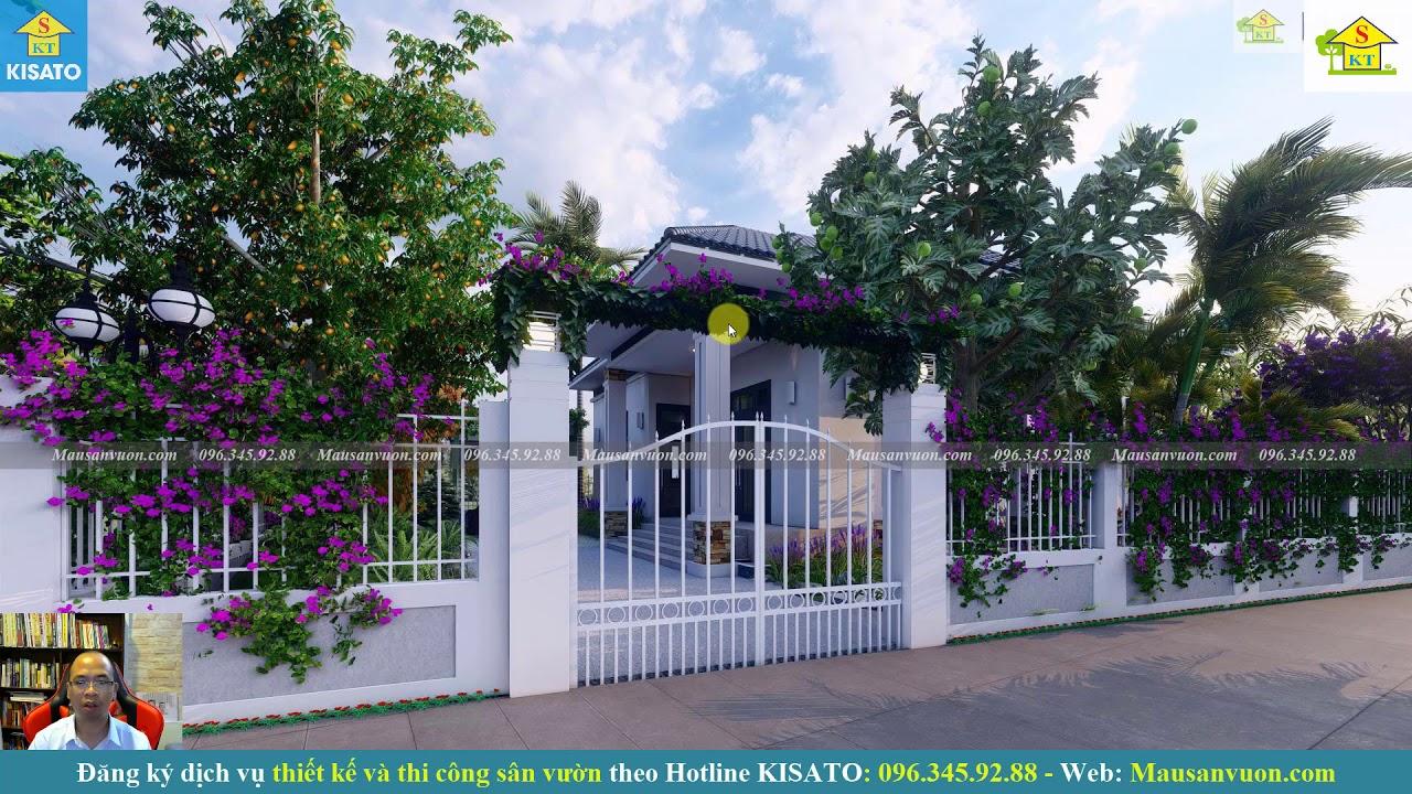 Chủ Nhà Đi Đâu Cũng Muốn Về Nhà Chỉ Vì Mẫu Sân Vườn Đẹp Cho Căn Biệt Thự Hiện Đại Tại Hưng Yên
