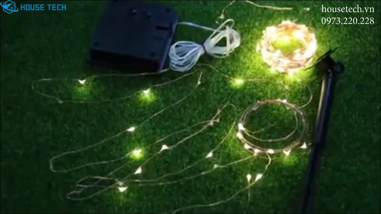 Dây đèn led trang trí sân vườn cao cấp