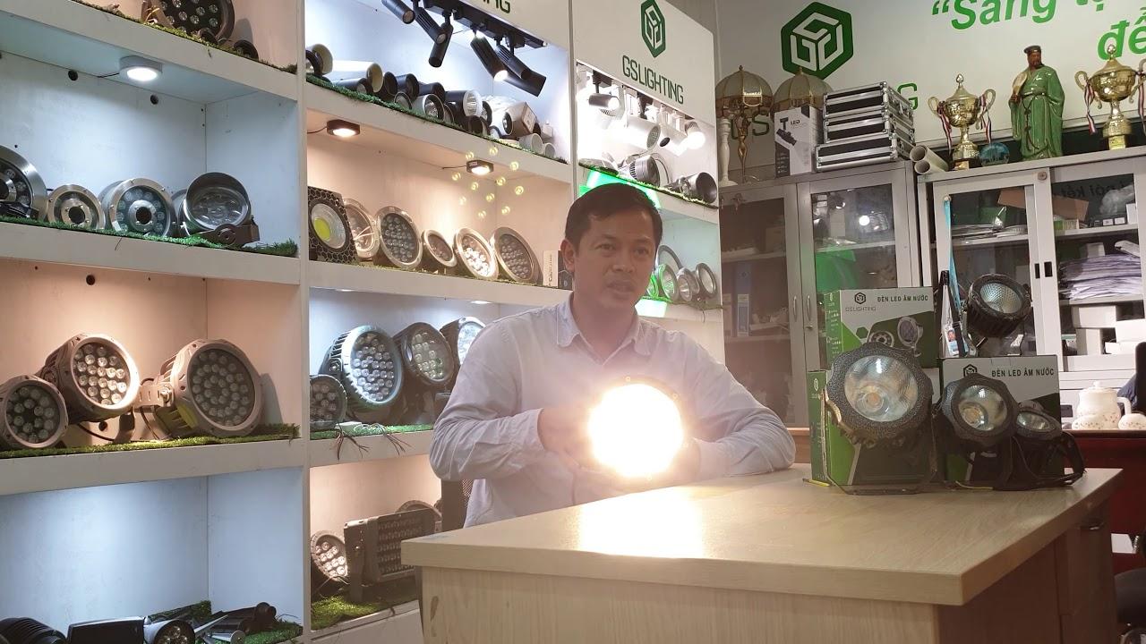 GSCD Đèn LED chiếu điểm, chiếu cây, chiếu phù điêu, chiếu sân vườn của GSLighting