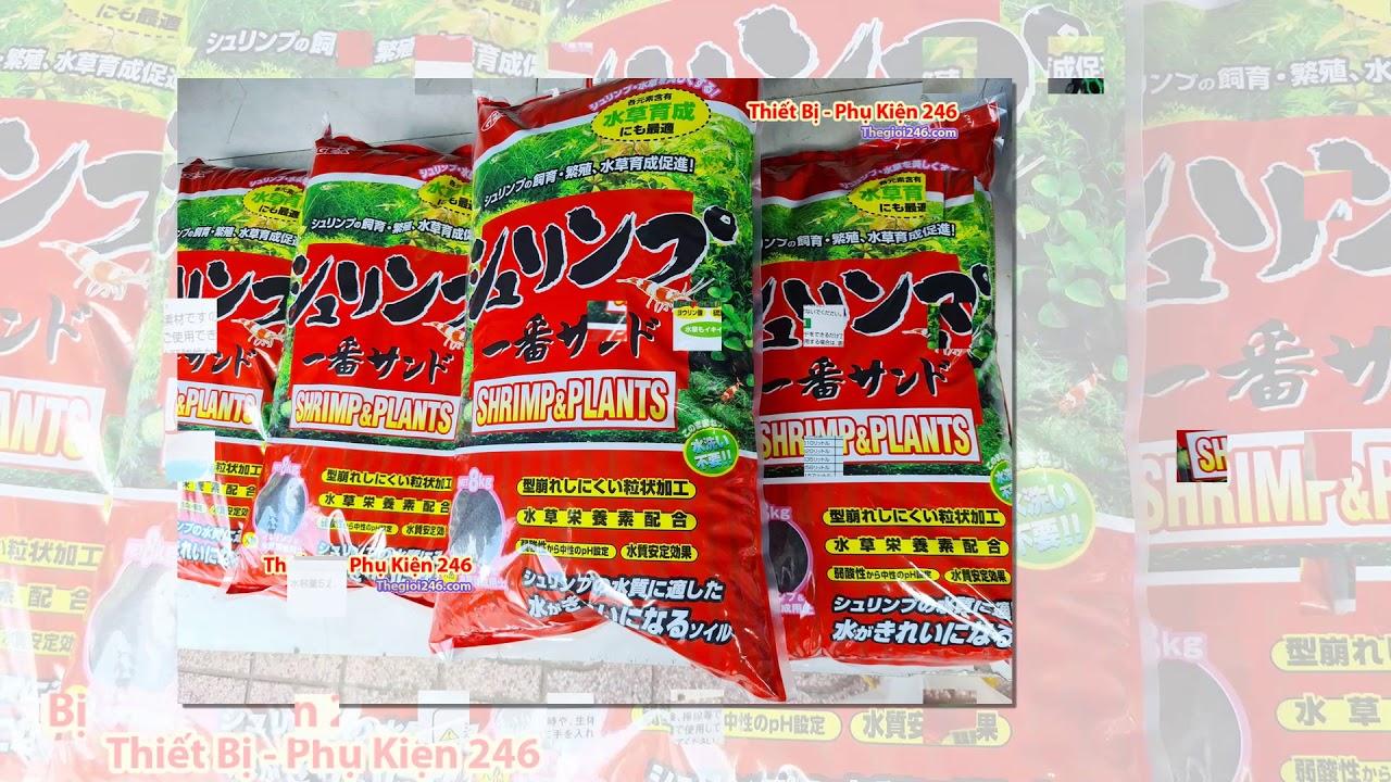 Gex đỏ 8kg Phân nền Nhật chuyên trồng cây – chuyên nuôi tép hồ thủy sinh 8kg (GEX Đỏ)
