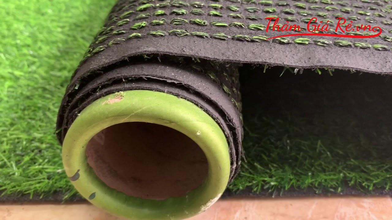 ( Giới thiệu #1) Thảm cỏ nhân tạo 2P giá rẻ - Thảm Giá Rẻ.vn