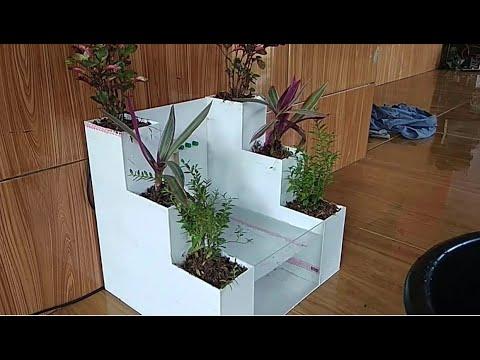 Hướng dẫn tự làm bể cá cảnh mini kết hợp trồng cây cảnh - làm thế nào?