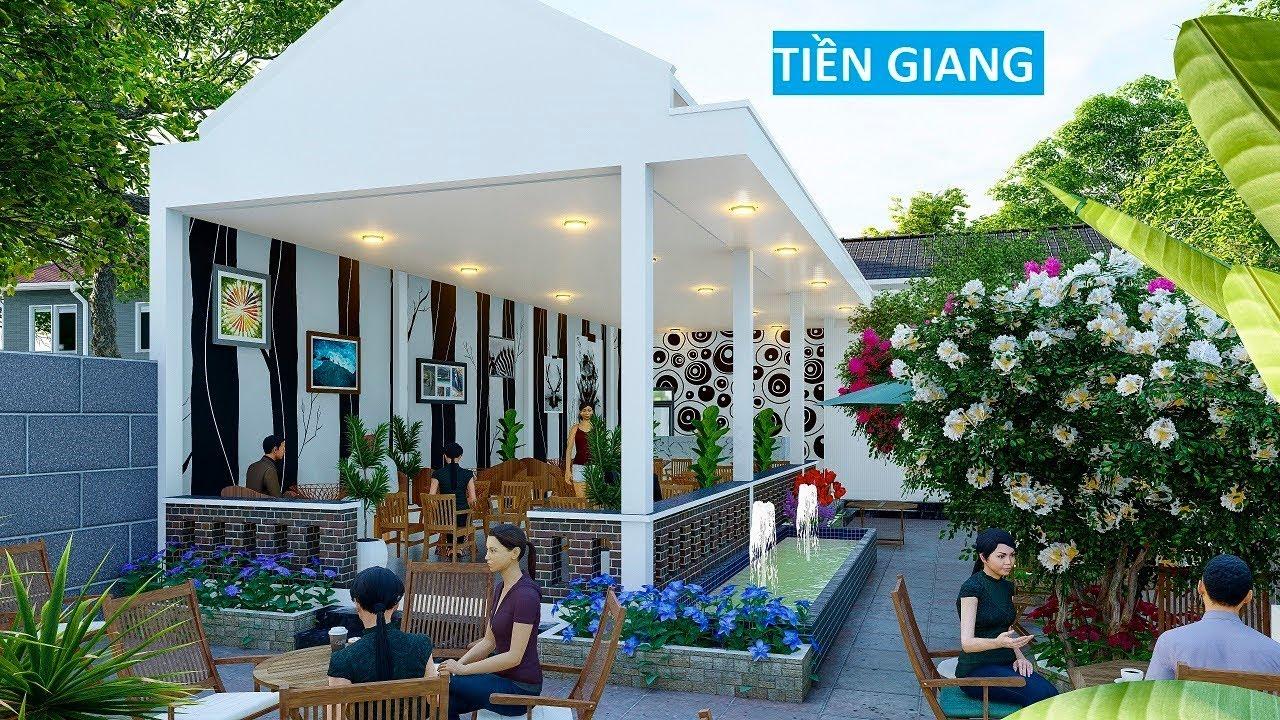 Hồ sơ thiết kế sân vườn cafe kết hợp nghỉ ngơi , cho anh Tâm tại Tp. Mỹ Tho Tỉnh tiền giang
