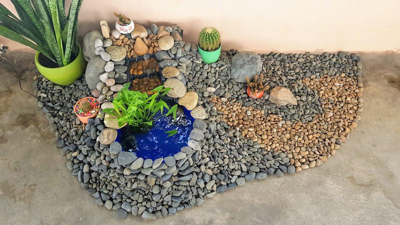 How To Building Small Landscape On The Terrace | Cách làm tiểu cảnh sân thượng từ A-Z.