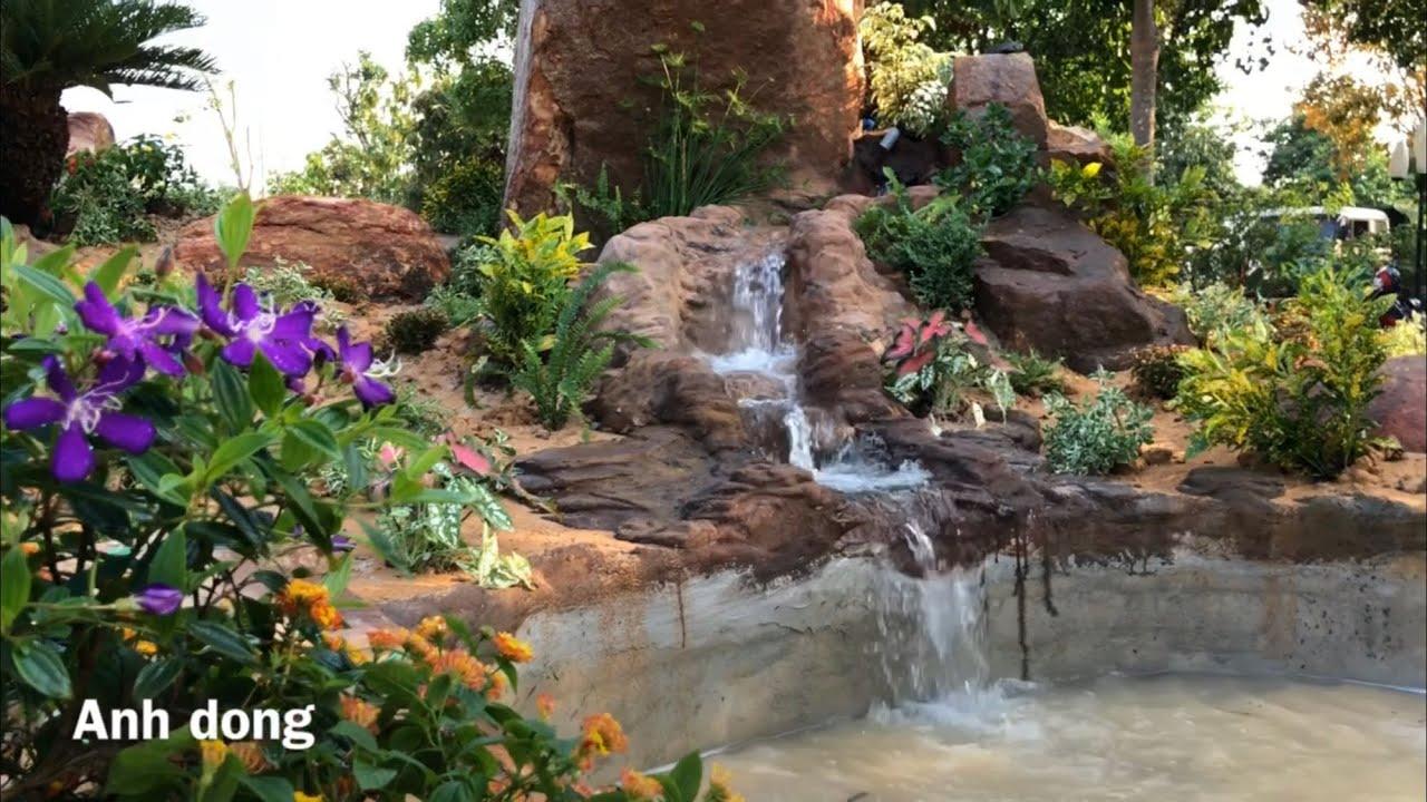 Làm tiẻu cảnh sân vườn phần tiếp theo