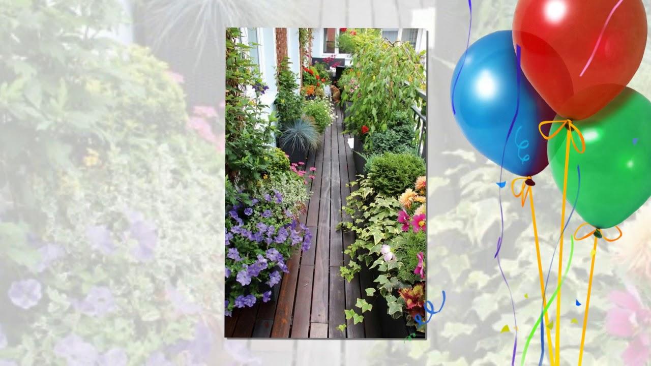 Làm vườn: Tổng hợp tiểu cảnh sân vườn ban công đẹp - Bacony