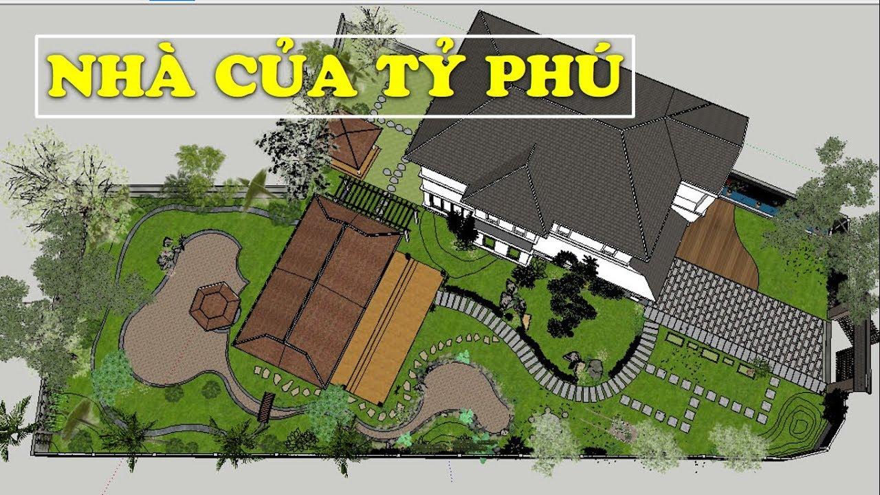 Mẫu Biệt Thự Sân Vườn Mới Nhất Tại Nông Thôn Trị Giá 6 Tỷ Đồng | Kiến Trúc Nhà Đẹp