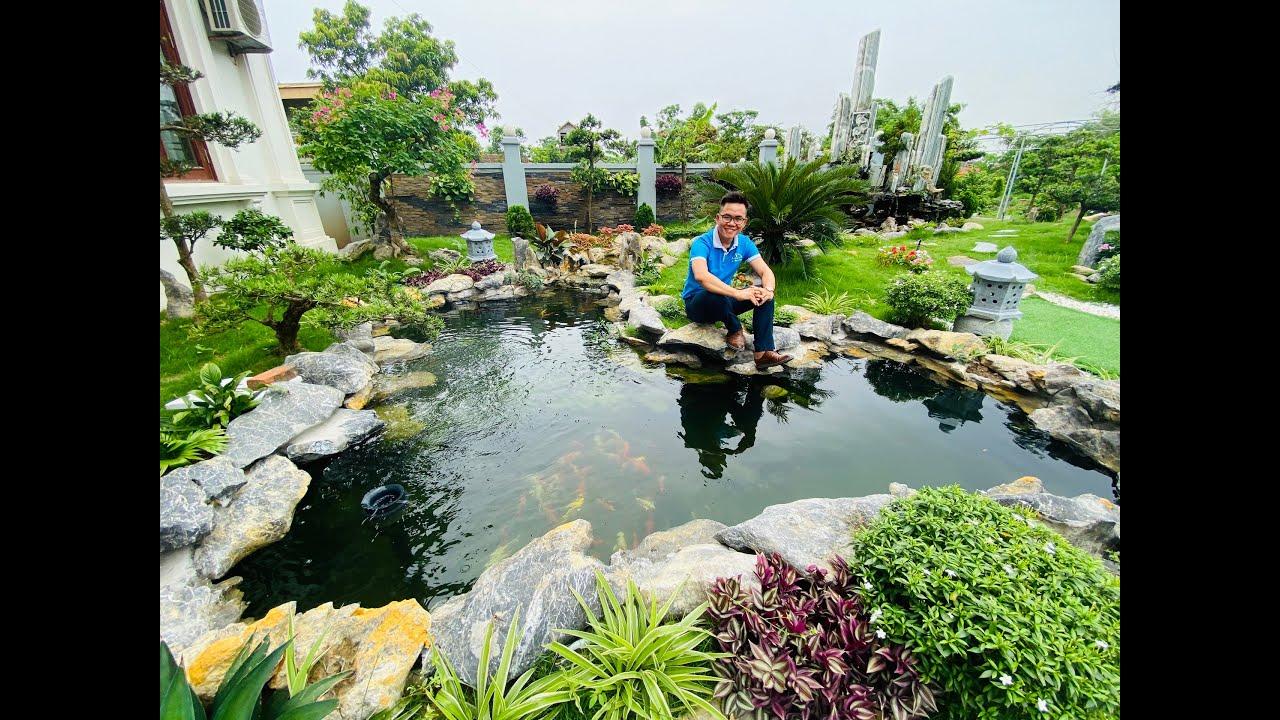 Mẫu Sân Vườn Đẹp Khiến Vạn Người Mê Do Kisato Thi Công Tại Bắc Giang