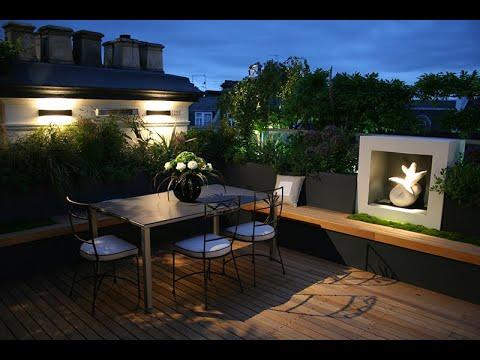 Mẫu sân vườn đẹp | Áp dụng cho sân thượng