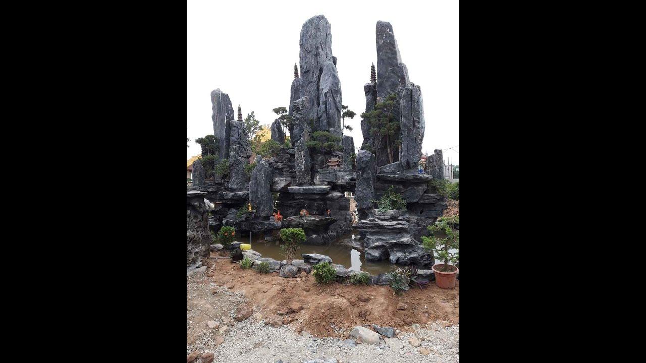 Một số sản phẩn non bộ, sân vườn, hồ koi đã hoàn thiện của Hoàng Long.