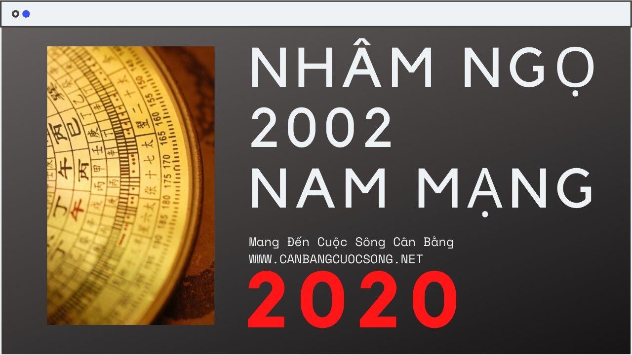 NHÂM NGỌ ~ 2002 NAM MẠNG