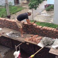 Nhà tường chịu lực tính vật liệu thế nào   How bearing a wall is material