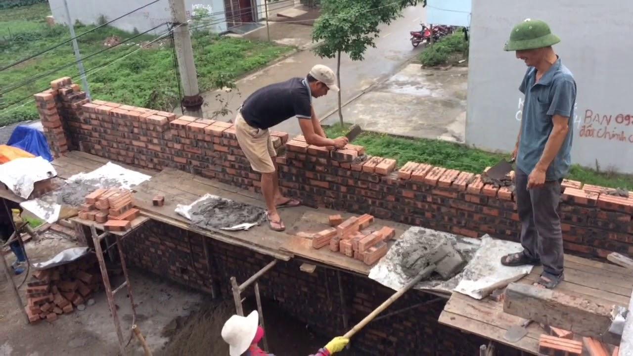 Nhà tường chịu lực tính vật liệu thế nào|| How bearing a wall is material
