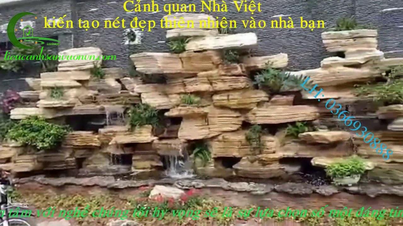 Non bộ thác nước sân vườn 37 Hùng Vương