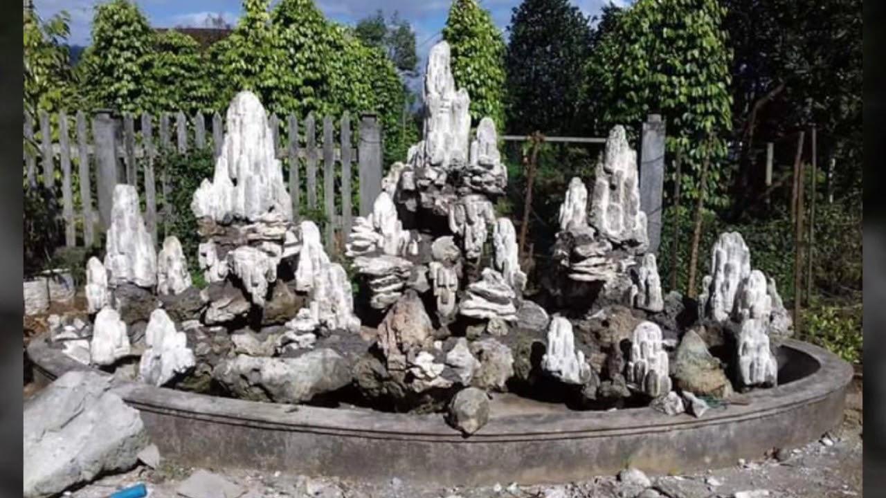 Non bộ tiểu cảnh sân vườn