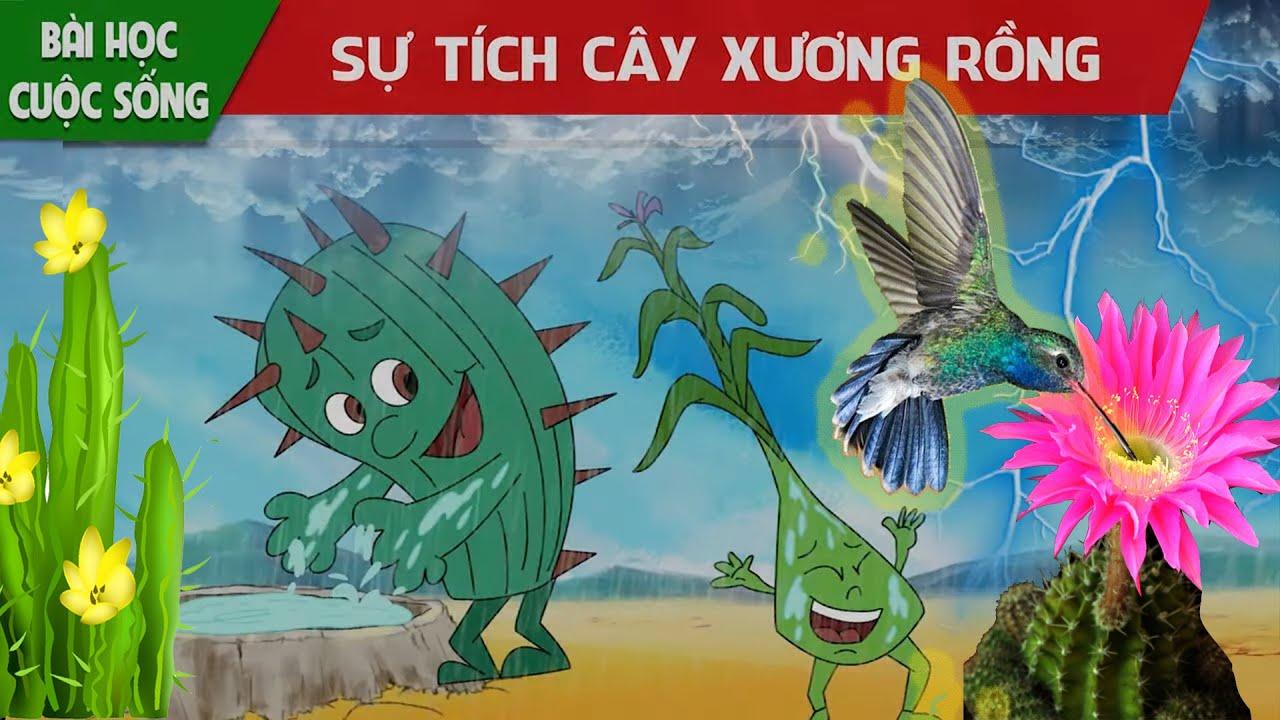 Phim hoạt hình mới nhất -   SỰ TÍCH CÂY XƯƠNG RỒNG - Quà tặng cuộc sống - Truyện cổ tích việt nam