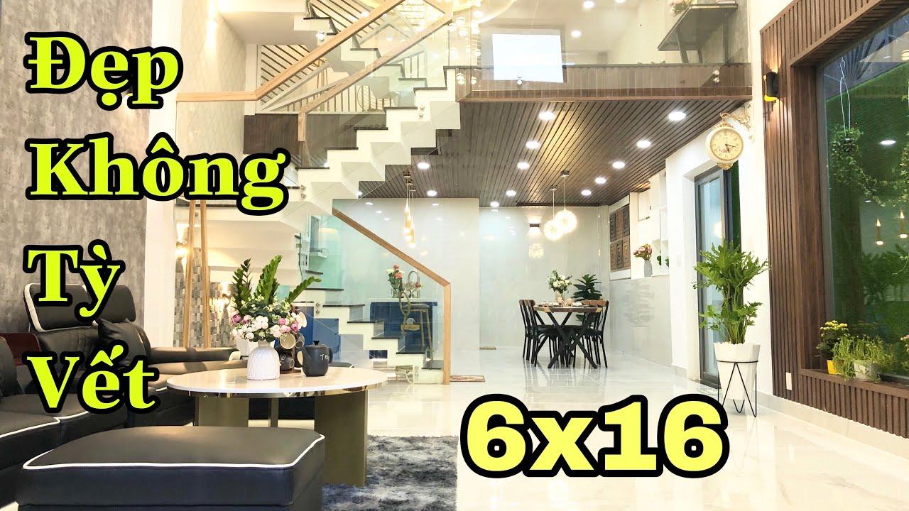Siêu phẩm 6x16m Đẹp không Tỳ Vết. Thiết kế theo phong cách Singapore Hiện Đại và Sang Trọng