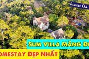 Sum Villa | Review Homestay Đẹp Nhất Măng Đen | Sân vườn rộng | Nội thất siêu XỊN