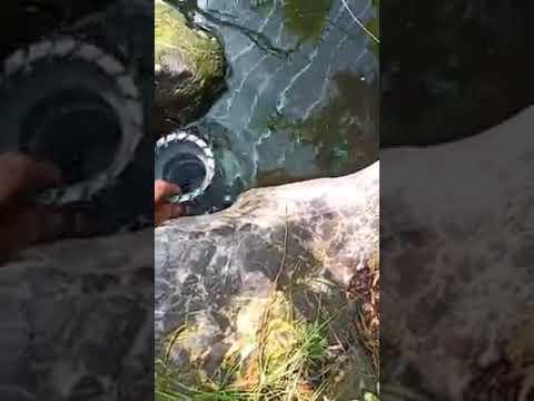 Tạo ống xoáy lọc nước bể cảnh non bộ