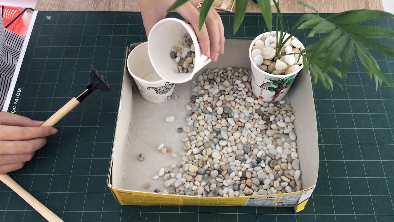 Tự tay thiết kế mô hình tiểu cảnh thủy sinh sân vườn kết hợp hồ bơi cực kỳ sinh động