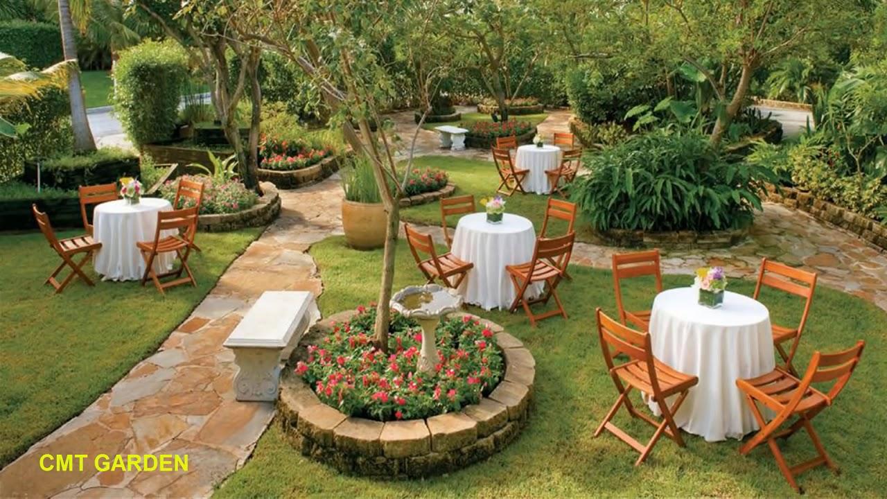 Thiết Kế Sân Vườn Đẹp Đơn Giản | 100 Mẫu Thiết Kế Sân Vườn