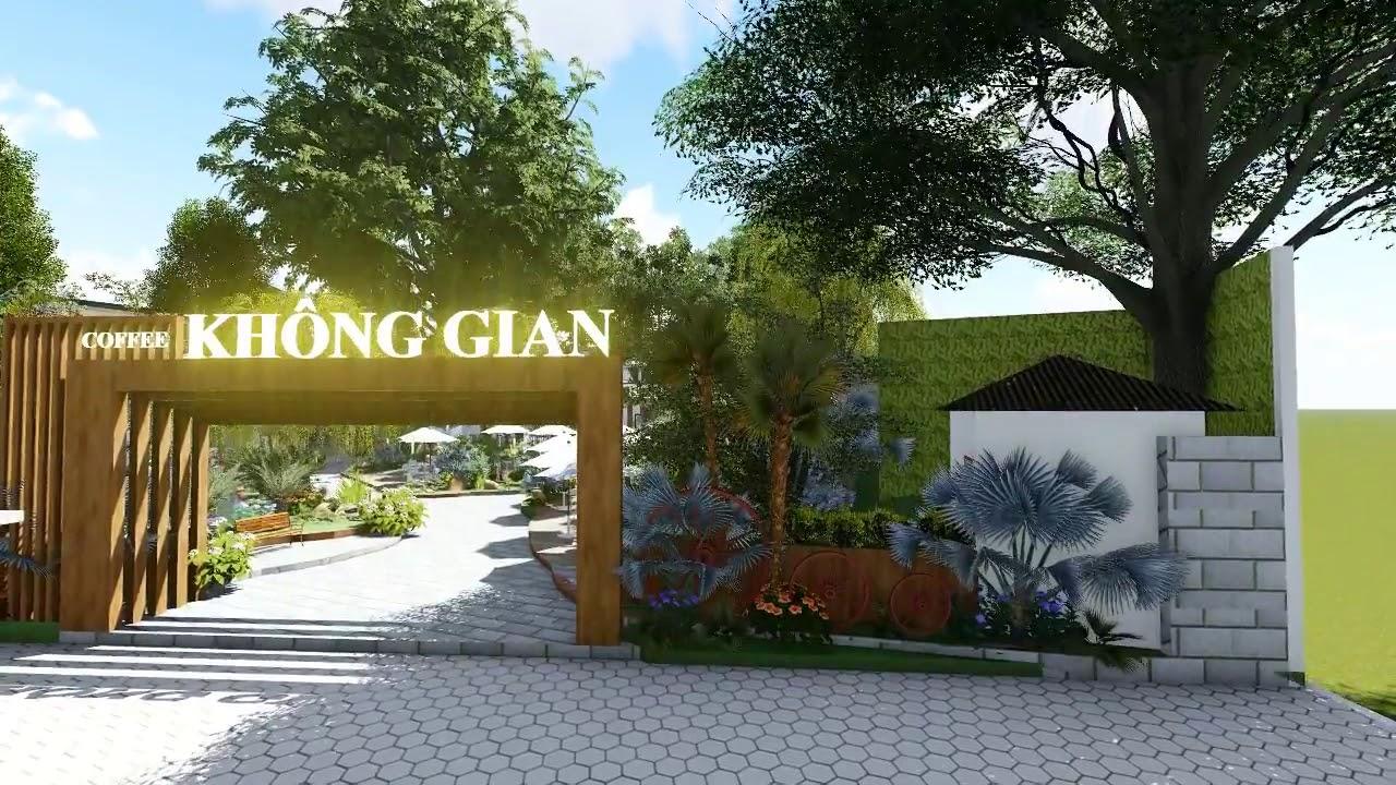 Thiết kế quán cà phê sân vườn đẹp ?