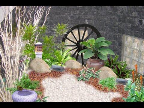 Thiết kế tiểu cảnh sân vườn đẹp