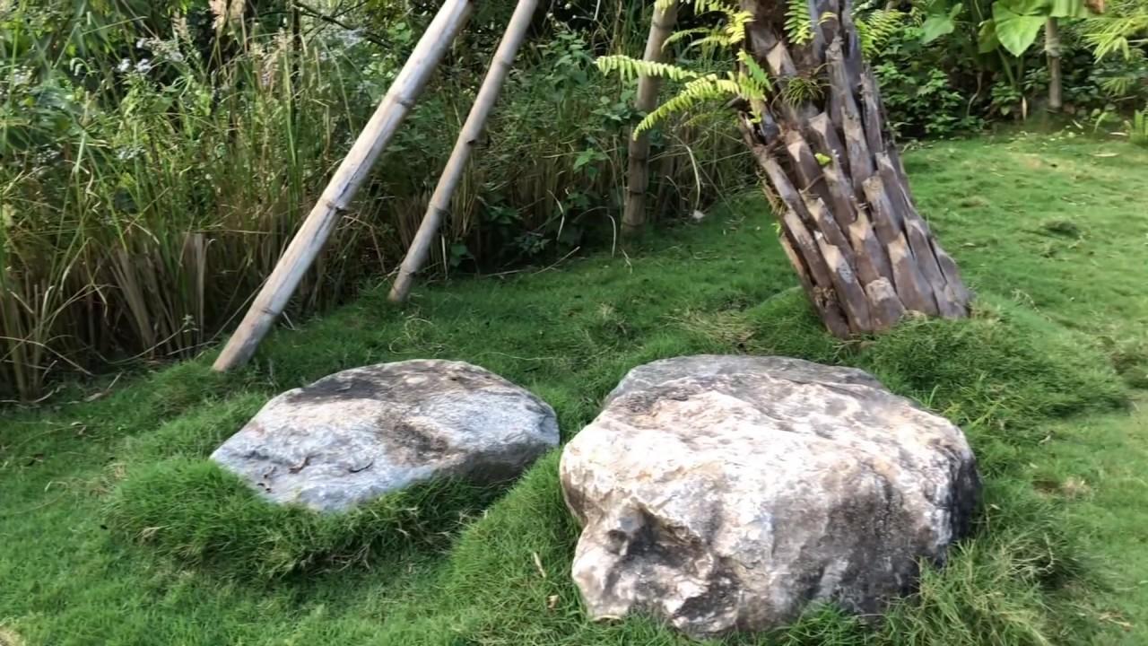 Tiểu Cảnh Đá Cuội Đẹp Đơn Giản Làm Tăng Thêm Sức Sống Khu Vườn