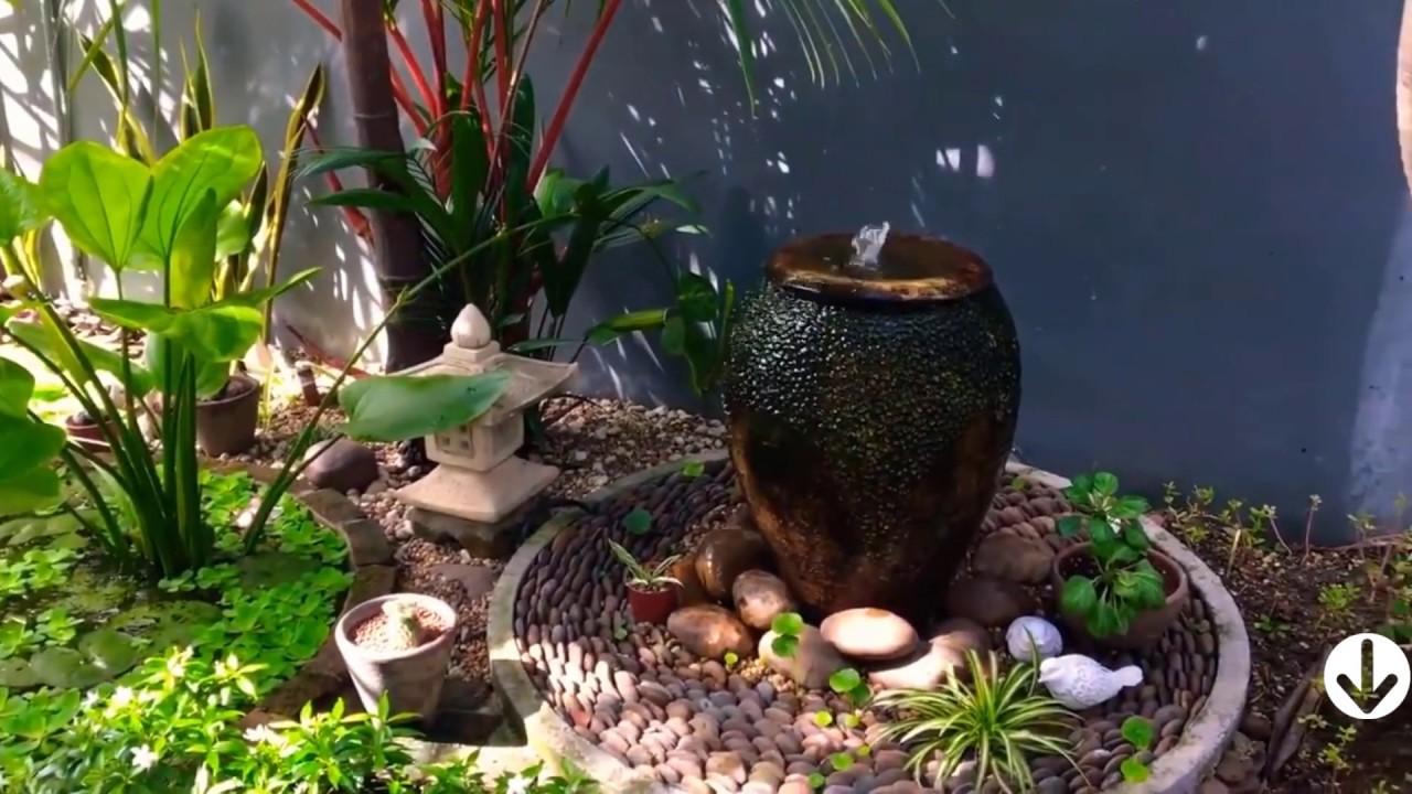 Tiểu cảnh 2019 tiểu cảnh sân vườn thiết kế sân vườn