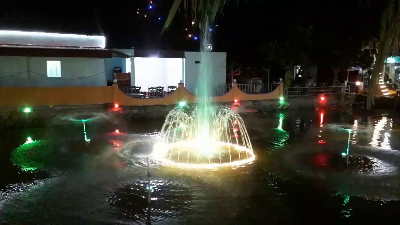 Tiểu cảnh sân vườn, đài phun nước