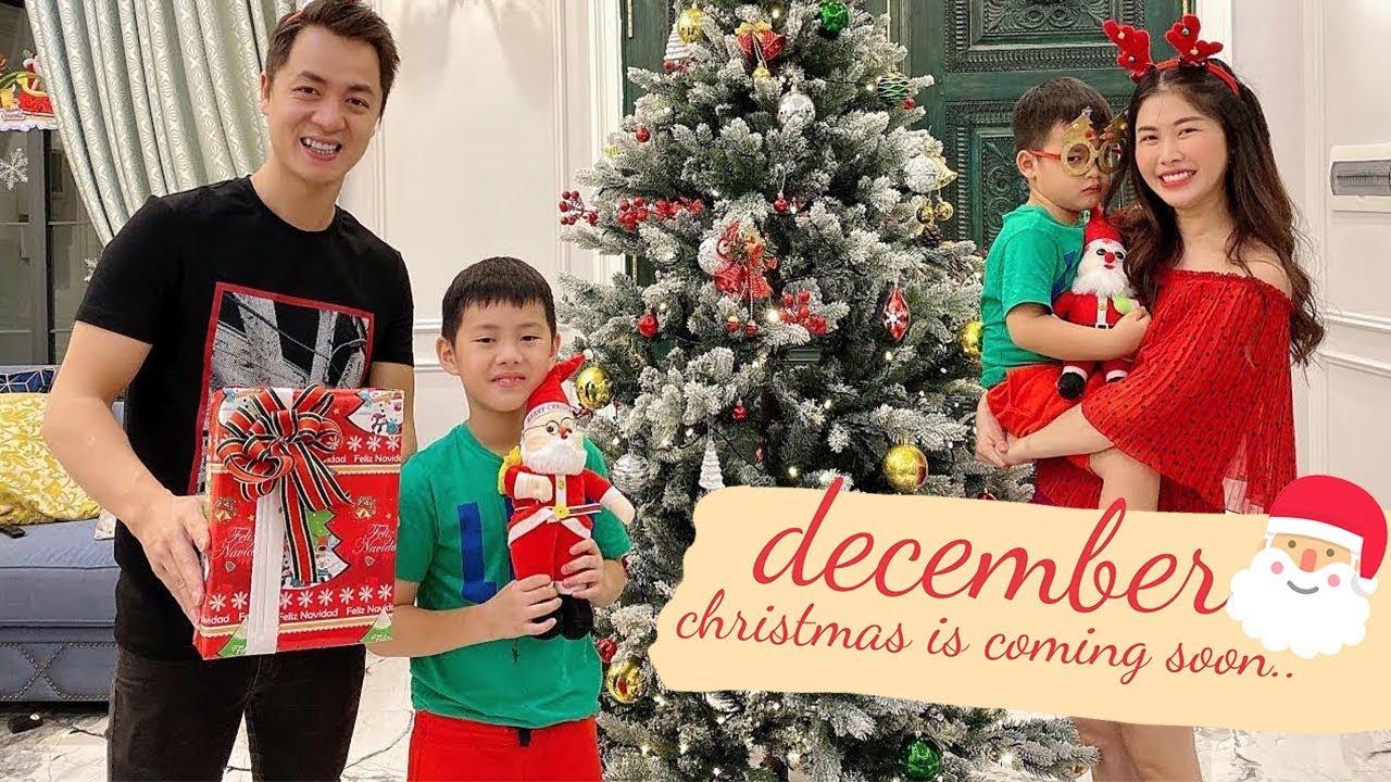 Trang Trí Cây Thông Noel Cho Giáng Sinh 2019 (Part 2) | Gia Đình Đăng Khôi Thủy Anh