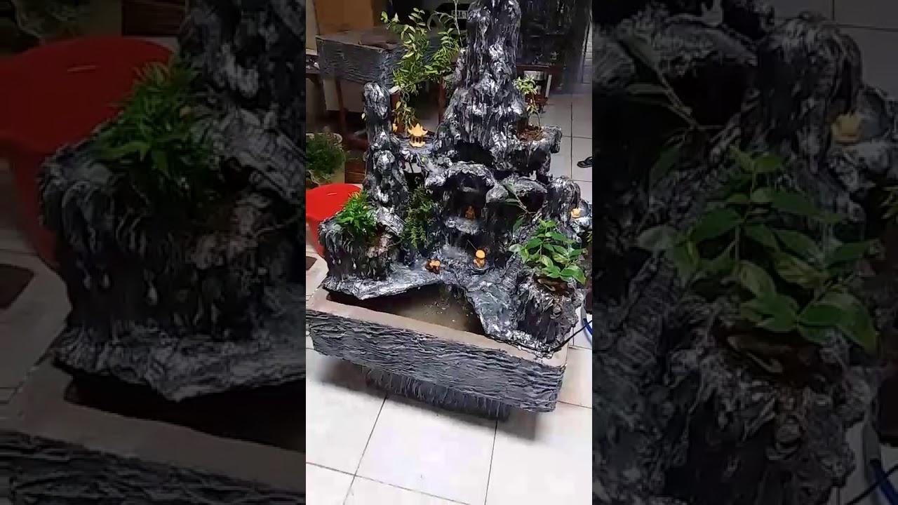 Video 3: Tiểu Cảnh Sân Vườn Hòn Non Bộ giá 3tr5 sdt 0938976733