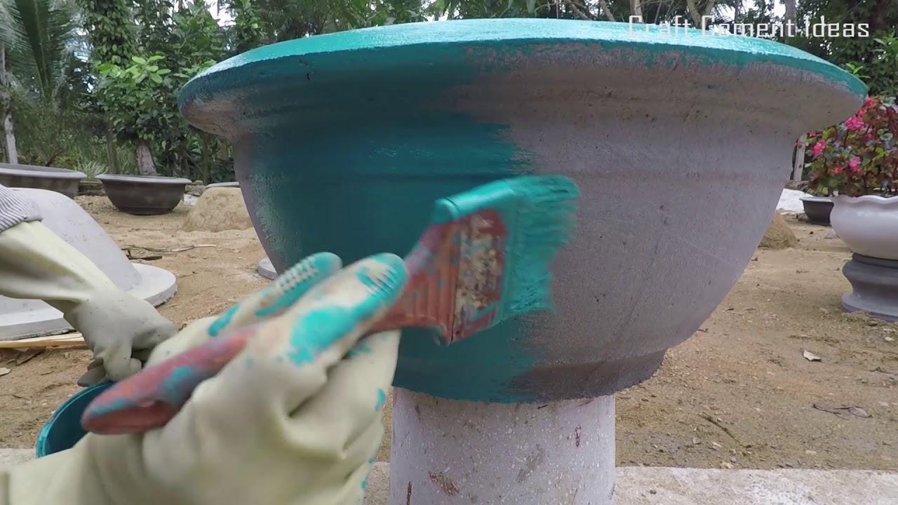 sơn chậu cây cảnh tại nhà đơn giản nhất