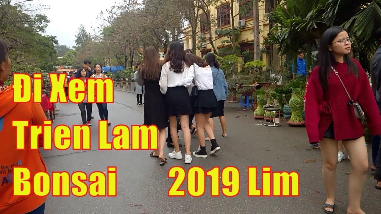 Đi xem Triển lãm cây cảnh bonsai Hội Lim 2019