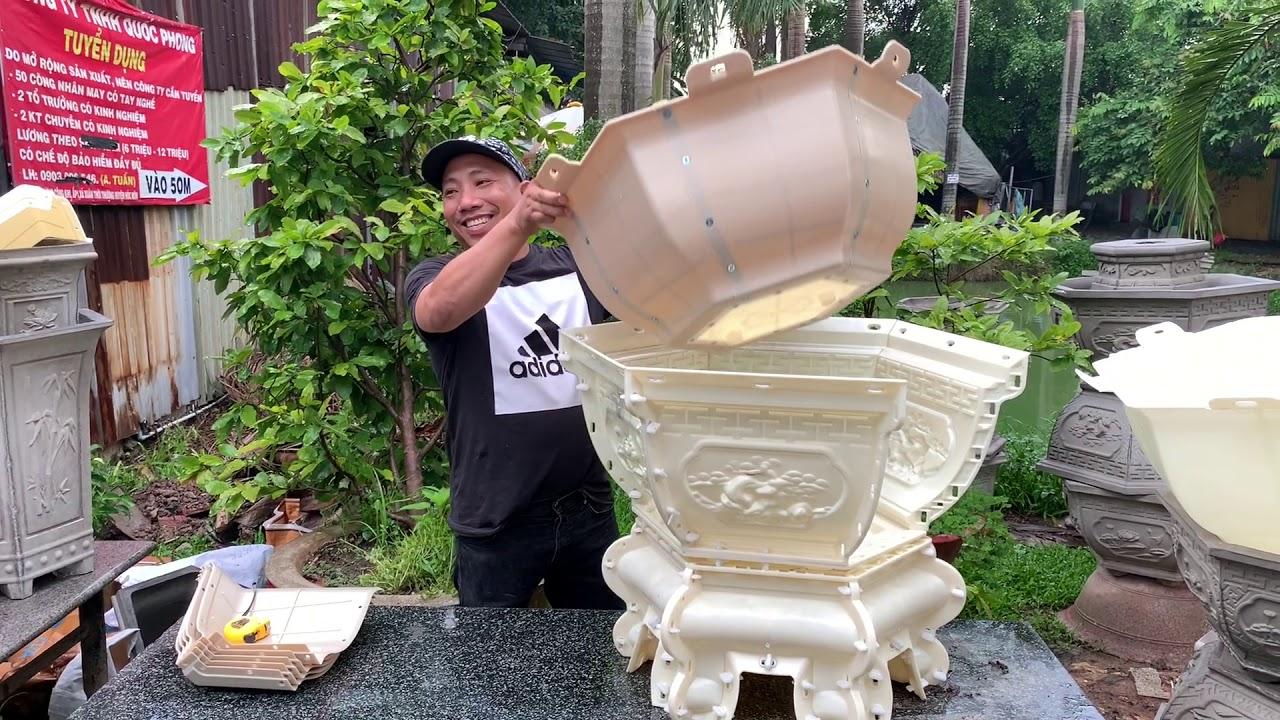 Giá Sốc Đầu Tuần - Khuôn Lục Giác 65 Chân Kỷ Giá Chỉ 2tr3 - Lòng Trong Ghép, Nhựa ABS Tái Sinh.