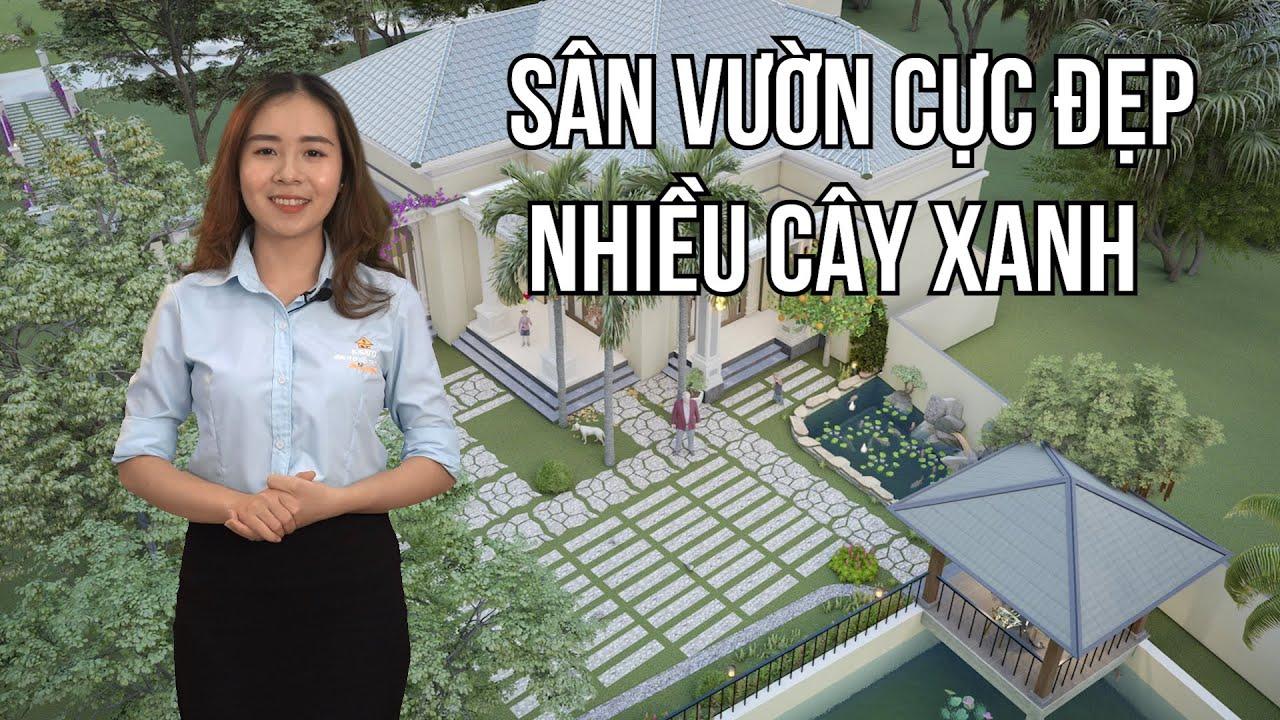 Mẫu Sân Vườn Đẹp 2020 Dành Cho Mẫu Biệt Thự Vườn Tại Ý Yên Nam Định