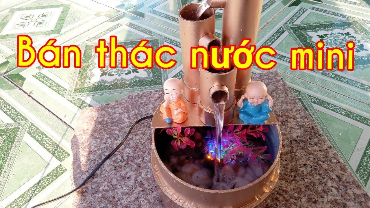 Tiểu cảnh thác nước phong thủy, bằng ống nhựa PVC, hàng độc,thac nuoc mini,tiểu cảnh ống nhựa bamboo