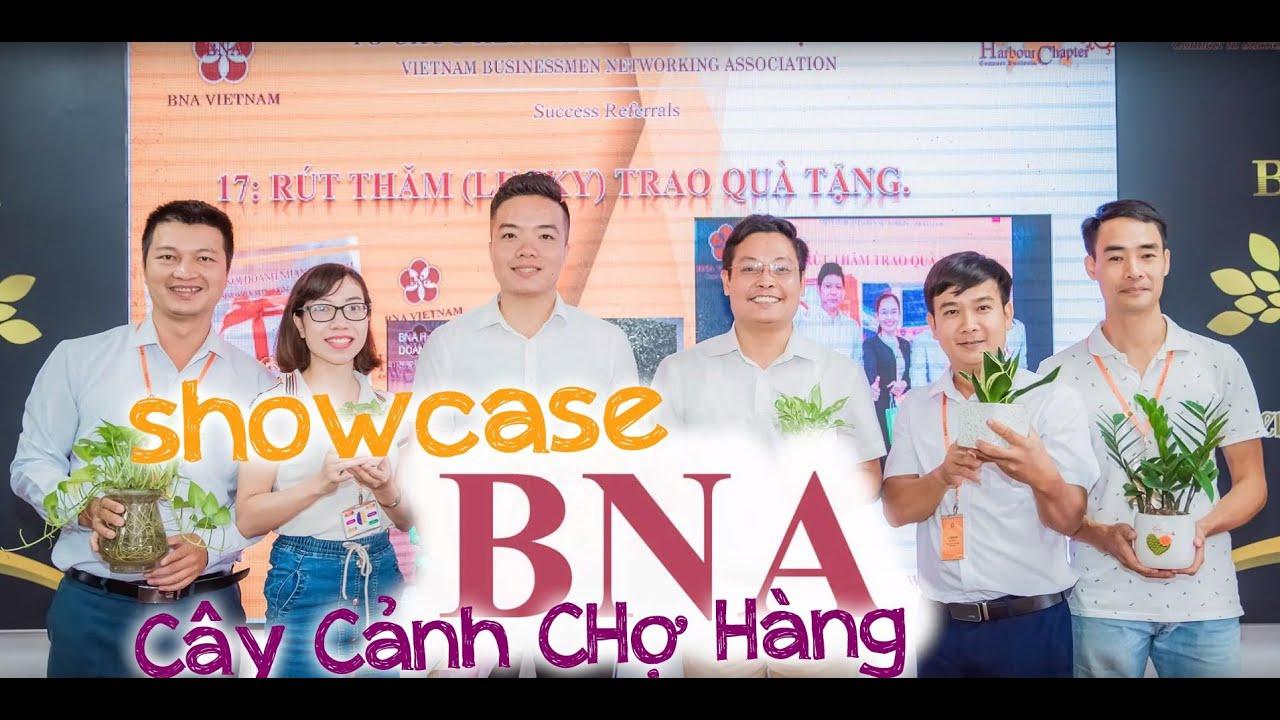 168. CEO Cây cảnh Chợ Hàng thuyết trình Showcase tại BNA Việt Nam 2019