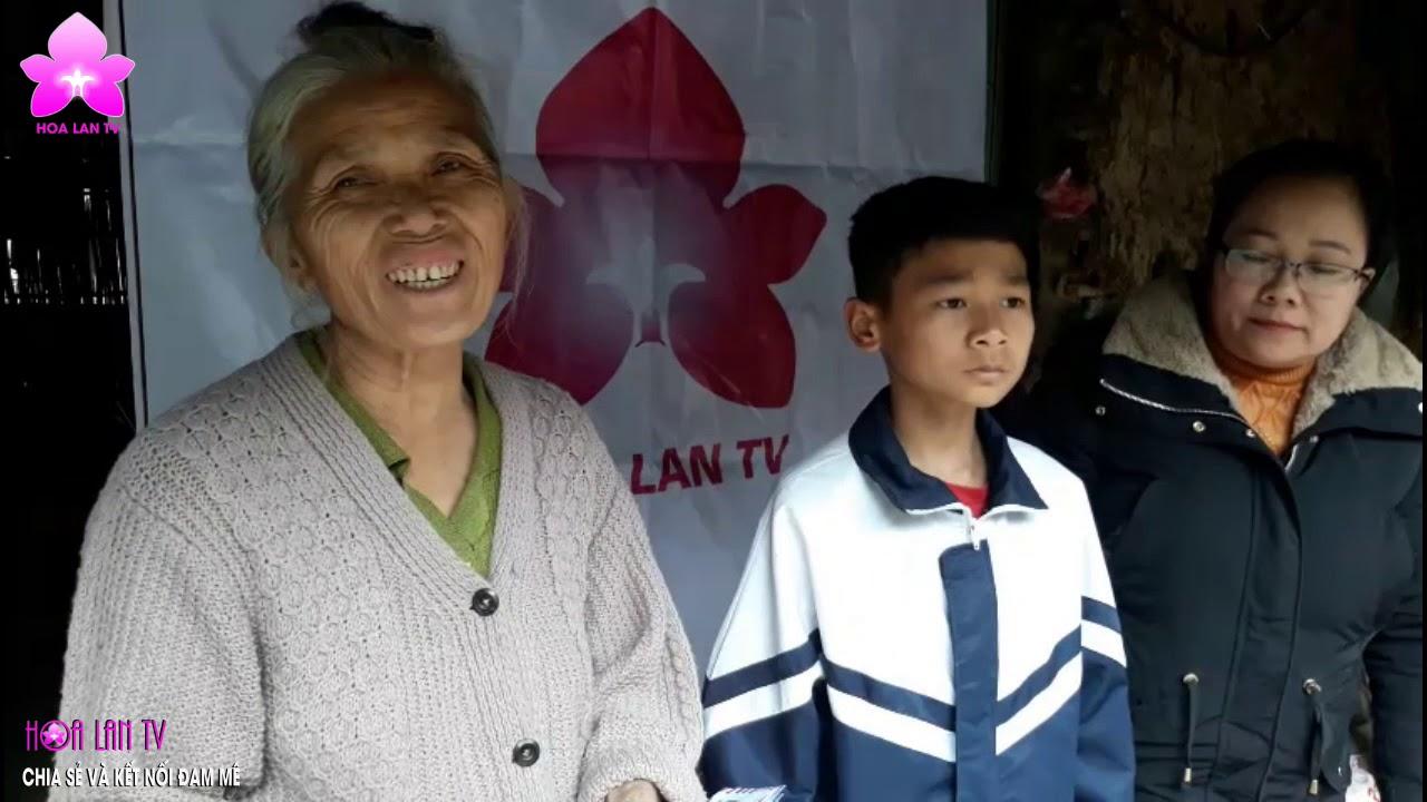 HoalanTV và Hoa lan Phi điệp Cát Bà trao Học bổng, lên sóng Truyền hình Cao Bằng @HOALAN 4U
